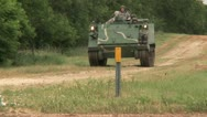 Stock Video Footage of Armoured personnel carrier 4