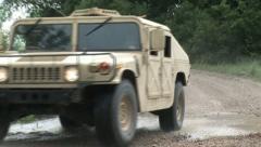Hummvee 9PR Stock Footage