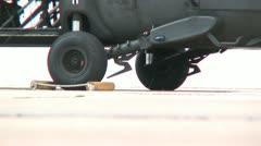 Blackhawk helicopter 8PR Stock Footage