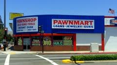Pawn Shop In Norwalk California - stock footage