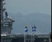 PAL Aircraft Carrier Stock Footage