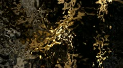 Strange Fluid Distorted And Noisy Material Stock Footage