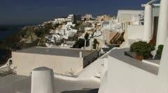 Stock Video Footage of Santorini Greek Islands