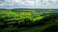 Rosedale in the NorthYorks Moors Yorkshire England Stock Footage