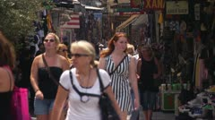 Athens street 9 - stock footage
