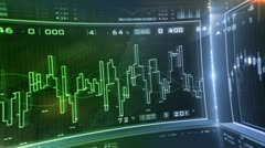 Business. Market Analyze. Bar graphs, diagrams, financial figures. Forex. Stock Footage