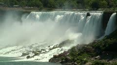 Niagara American Falls HD Stock Footage