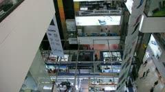 Singapore Sim Lim Square 1 Stock Footage