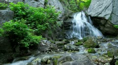 Fergusan Canyon waterfall timelapse Stock Footage