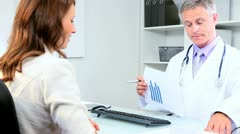 Business Advisor Meeting Medical Doctor Stock Footage