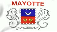 Stock Video Footage of Flag Of Mayotte