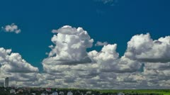 Running clouds 720p Stock Footage