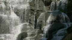 Rocky Waterfall Stock Footage