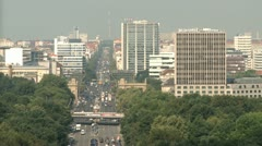Aerial Berlin Urban Life - stock footage