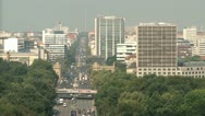 Stock Video Footage of Aerial Berlin Urban Life