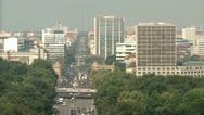 Stock Video Footage of Aerial Berlin Urban Life