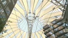 SONY Center Berlin - stock footage