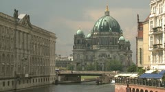 Berlin Cathedral - stock footage
