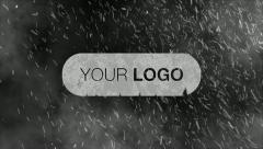 Snow Storm Logo Intro After Effects Template - stock after effects