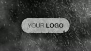 Stock After Effects of Snow Storm Logo Intro After Effects Template