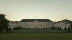 Bellevue Palace Stock Footage