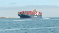 Container Ship - Timelapse Stock Footage