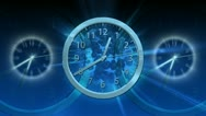 Passing Time Background - Clock 64 (HD) Stock Footage