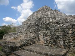 Ek Balam,Pyramid , Mayan Ruins, Yucatan, Mexico Stock Photos