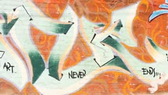 Graffitti Los Angeles Stock Footage