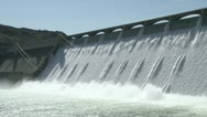 Stock Video Footage of Grand Coulee Hydroelectric Dam cu 04