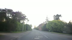 Country Road Drive.mp4 Stock Footage