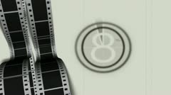 Film Countdown - stock footage