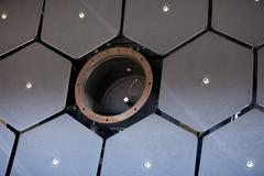 Cosmic Ray collection mirror telescope 9035.jpg - stock photo