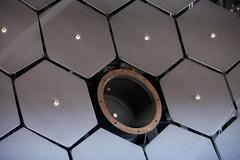Cosmic Ray experiment collection telescope 9033.jpg - stock photo