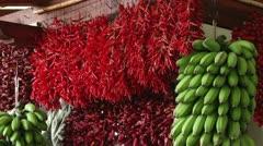 Food Market Stock Footage
