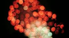 Firework Bokeh 1 Stock Footage