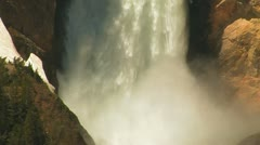 Grand Canyon of the Yellowstone - stock footage