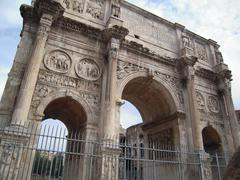 DSCN0096 Arch Of Constantine.jpg Stock Photos