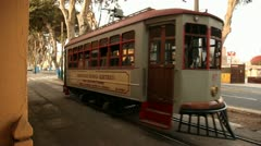 Historic Electrical Train (Lima) Stock Footage