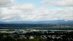 Portland, Oregon - Clouds Stock Footage