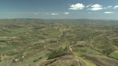 Stock Video Footage of Aerial of African rural communities