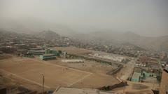 Slums in Lima, Peru Stock Footage