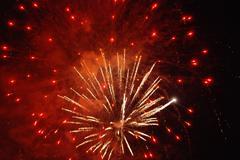 fireworks - stock photo