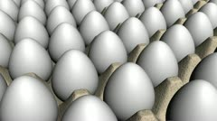 Egg Crate Looping Animated Background Angle Three Stock Footage
