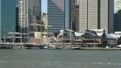 South Street Seaport - stock footage