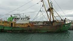 Trawler Fishing Boat Stock Footage