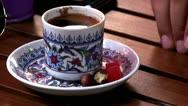 Stock Video Footage of turkish coffee