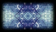 Psyched Out Trance Mirror Background Abstraction 02 - Super8 Film Stock Footage