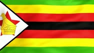 Stock Video Footage of Flag Of Zimbabwe