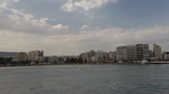 Piraeus Harbor 1 - stock footage